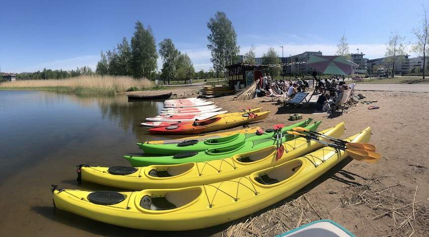 SUP-board and kayak rental in Helsinki